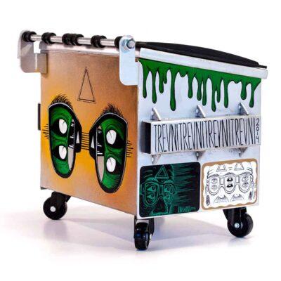 Green Trash Rear