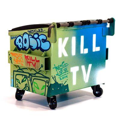 Ice Cold Killa TV Rear