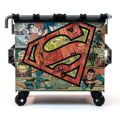 Man of Steel Rear
