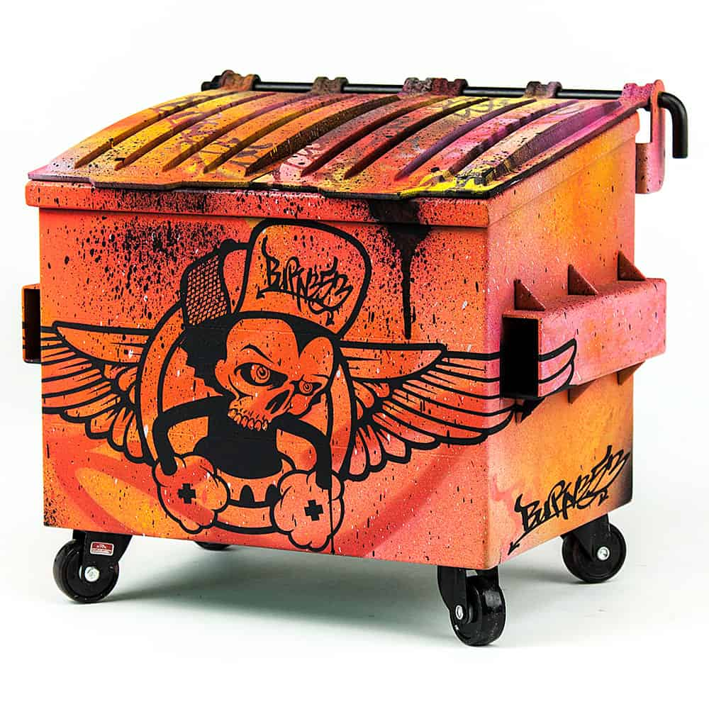 Artist Edition Dumpsty Dumpster