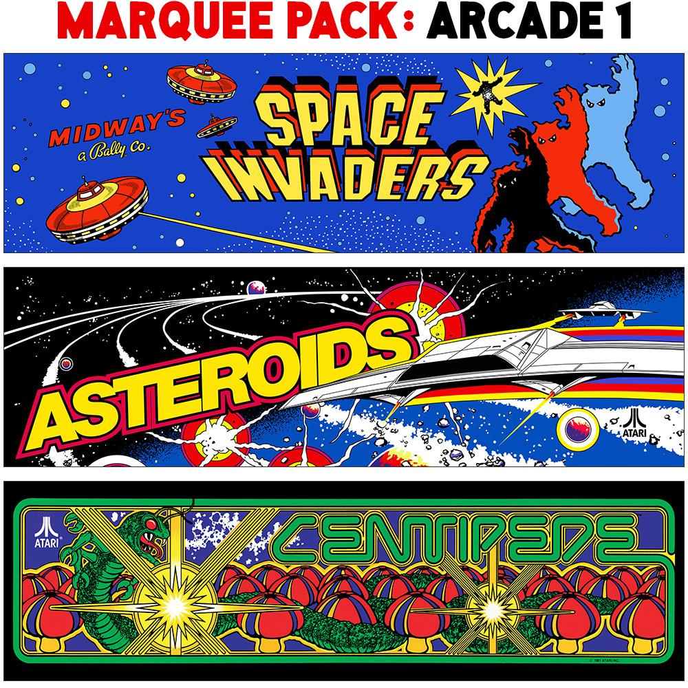 Marquee Pack: Arcade 1 | Dumpsty